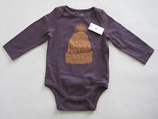 **Baby Gap** Baby Boy Long Sleeve Graphic Bodysuit Size 0-3 months NwT