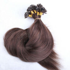 Pre Bonded U/ Nail Tip Keratin Remy Human Hair Extensions Straight  100 STRANDS