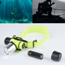 SALE~2400Lm CREE T6 LED Waterproof Underwater Diving light Lamp Flashlight Torch