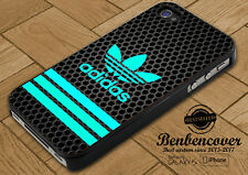 Adidas Strips Blue Cover iPhone SE/5/5s/6/6s/6+/6s+/7/7+/8/8+ Samsung S8 Case
