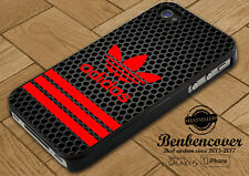 Adidas Strips Red New Cover iPhone SE/5/5s/6/6s/6+/6s+/7/7+/8/8+ Samsung S8 Case