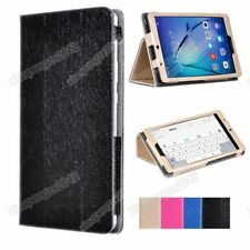 "PU Leather Silk Stand Case Cover Skin For 7""Huawei MediaPad T3 7.0 BG2-W09+Film"