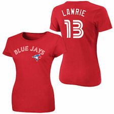 Toronto Blue Jays Majestic Womens Canada Day 2013  T-Shirt - Red