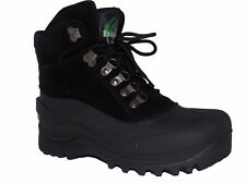 Itasca ICEBREAKER Mens Black Warm Winter Snow Boots