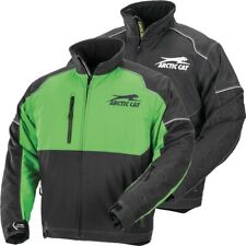 Arctic Cat Men's Backcountry Uninsulated Mountain Snowmobile Jacket Green Black
