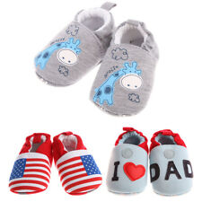 Soft Sole Baby Shoes Crib Boy Girl Infant Toddler Kids Children 0-12 Months