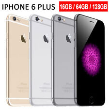 "Apple iPhone 6 Plus 16GB 64GB 128GB GSM ""Factory Unlocked"" Smartphone All Colors"