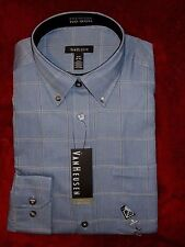 NWT Men's Van Heusen L/S Dress Shirts Variety of Sizes, Styles & Colors