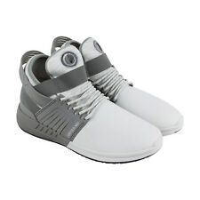 Supra Skytop V Mens Gray Synthetic High Top Lace Up Sneakers Shoes