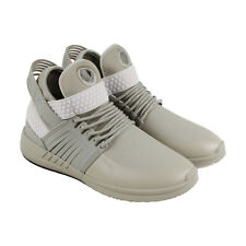Supra Skytop V Mens Beige Synthetic High Top Lace Up Sneakers Shoes