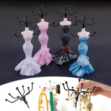 Lady Mannequin Earring Bracelet Necklace Jewelry Display Stand Holder Organizer