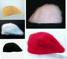New Women Angora Ivy Newsboy Cap Hat Crochet Driving Golf Cabbie hat 4 colors