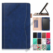 PU Leather Flip Stand Case Cover For Amazon Kindle Fire HD 10 2017 / 2015+Film