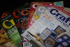 CHOOSE a magazine Crafts & Things; Cloth Paper Scissors