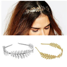 Bohemian Leaf Branch Dainty Bridal Hair Crown Head Dress Alice Band Tiaras