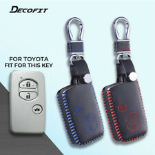 Car Key Cover for Toyota Camry Highlander Prado Crown Land Cruiser Prius Vitz