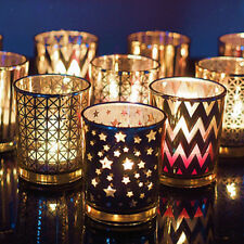 Glass Votive Tea Light Candle Holder Wedding Night Party Main Road Decorations