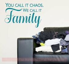 We Call It Family Farmhouse Decor Vinyl Lettering Decals Wall Sticker Quotes