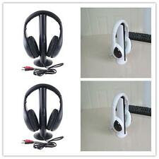 5in1 Wireless Headphone Earphone Cordless Headset for MP3 PC Stereo TV FM iPod *
