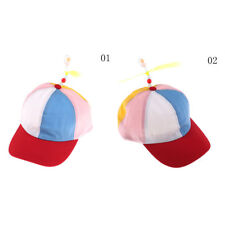 Cute Adjustable Propeller Beanie Ball Cap Hat Clown Costume Accessory