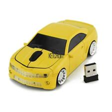 2.4GHz Wireless USB Sports Car Shape Laptop Computer Optical Mouse KECP 01