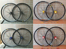 "Mavic 319 Rims Modeng Hubs MTB Mountain Bike 26"" F&R Wheels Disc Wheelset"