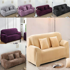 Stretchable Washable 2 Seater Sofa Cover Love Seat Couch Settee Slipcover