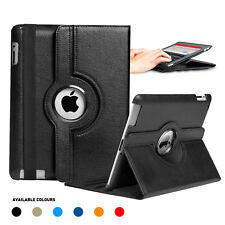 Full device protection Apple iPad Leather Rotating Smart Case Cover Stand+Screen