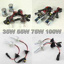 35W/55W/75W/100W Car HID Xenon Conversion Kit Bulbs Lights Lamps Replace 3K-8k