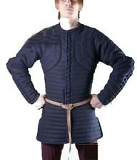 new year gift Thick Blue Color Gambeson Medieval Padded Full Sleeves Armor