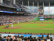 Marlins vs Philadelphia Phillies 4/30/18 (Miami) Row 1 - Behind Phillies Dugout