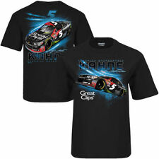Kasey Kahne Checkered Flag Youth Great Clips Grandstand T-Shirt - Black