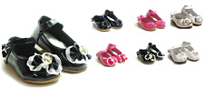 New Baby Toddler Girls Mary Jane Slip On Shoes Ballerina Pageant Ballet Flats
