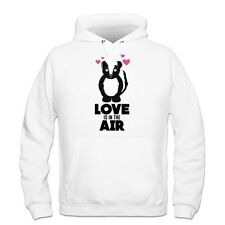 Love Is In The Air Skunk With Hearts Hoodie