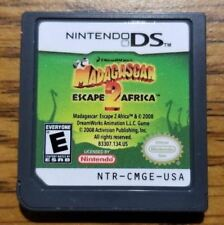 Madagascar: Escape 2 Africa (Nintendo DS, 2008) TESTED WORKING 3DS 2DS DSi DS XL