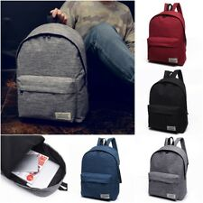 Unisex Women Men Casual Shoulder Purse Satchel Tote Backpack School Book Bag New