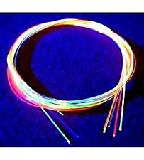 "Two 3 INCH PIECES .060"" (1.5mm) Fiber Optic Replace Sight Rods Choose Color(s)"