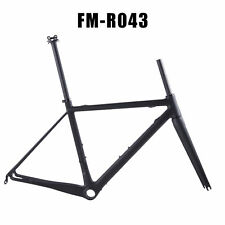 Super Light Carbon Fiber Road Bike Frame OEM 700C Carbon Racing Bicycle Frameset