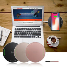 Qi Wireless Fast Charger Charging Stand Dock Pad For Qi-Enabled iPhone Android