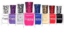 Sally Hansen Crackle Overcoat Nail Polish Pick Your Color Set of 3
