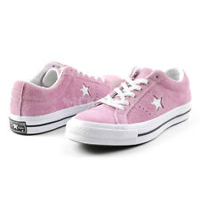 Converse Unisex One Star Low Suede Pink White Black Label Sneakers 159492C