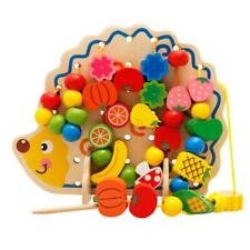 Kids Montessori Wooden Toys Baby Educational Stacking Blocks Puzzle Game Toy