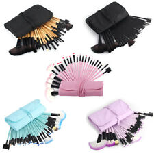 32Pcs Pro Makeup Brushes Set With Pouch Bag Comestics Concealer Brushes Tools