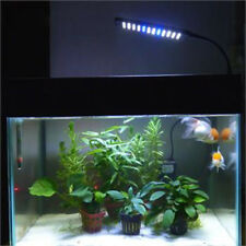 Sale Aquarium Fish Tank 24/48 LED Clip On Light Lamp with 3 Modes and Flexible #