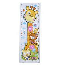 Kids Height Chart Wall Sticker PVC Decals Home Nursery Room Growth Ruler Decor