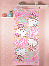 Hello Kitty Pink Heart Washcloth Bath Towel Beach Towel 60 x 120cm KK909