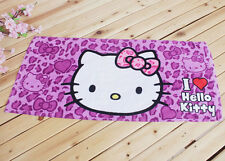 Hello Kitty Purple Leopard Washcloth Hand Towel 76 x34cm KK7javascript:;43