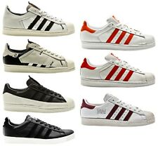 Adidas Superstar 80s CLEAN WHITE MEN SNEAKER MENS SHOES Shoes