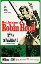 The Adventures Of Robin Hood - 1938 - Movie Poster