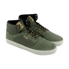 Supra Yorek Hi Mens Green Suede Lace Up Lace Up Sneakers Shoes